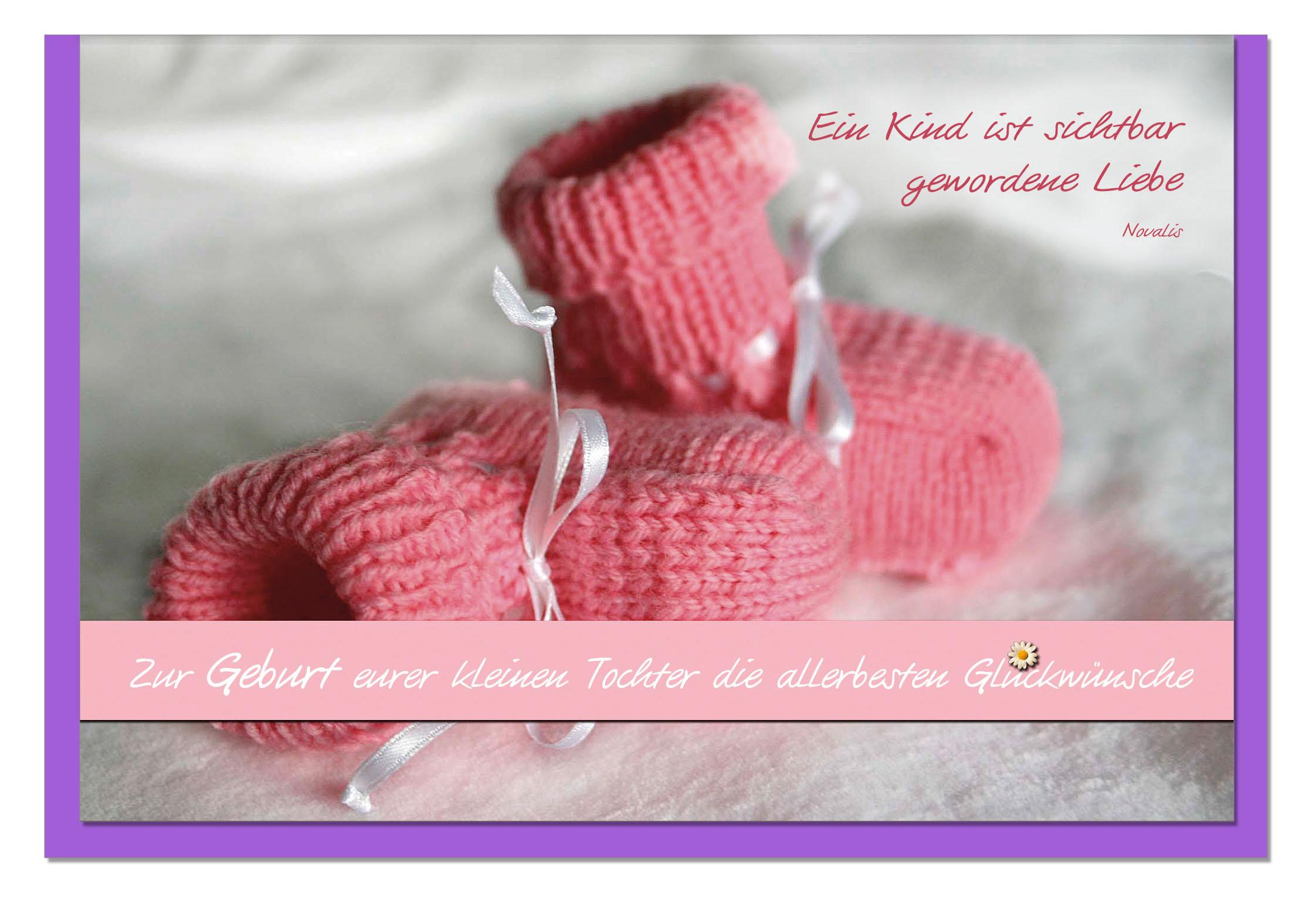 Geburtskarten / Grußkarten /Geburt Babyschuhe