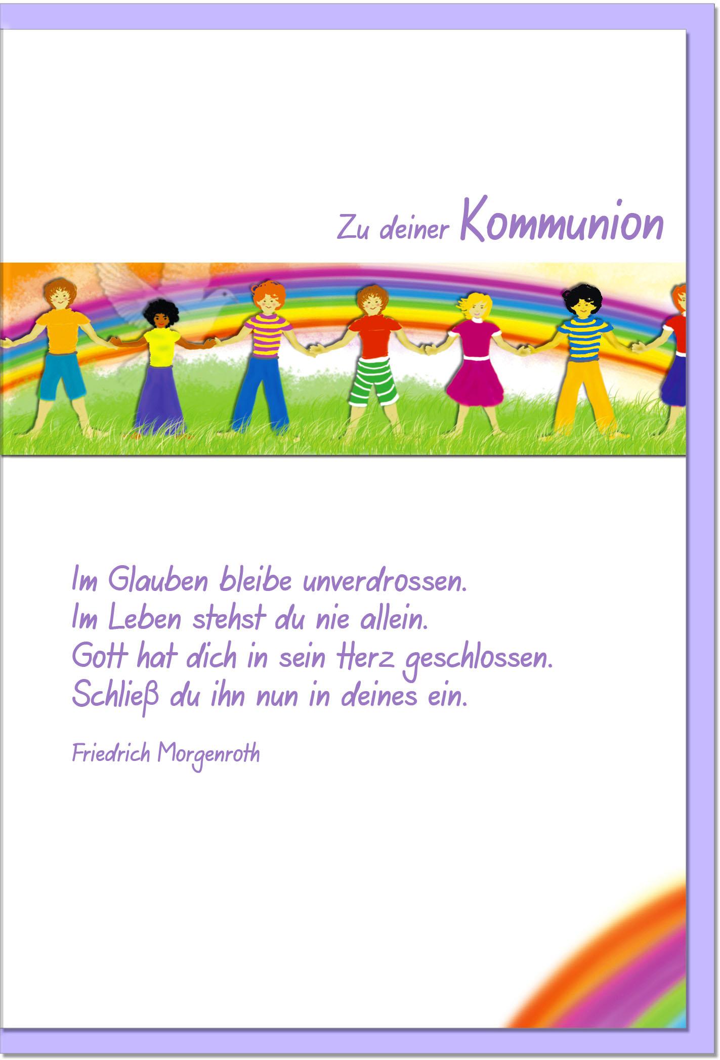 Kommunionskarten / Grußkarten /Kommunion Kinder