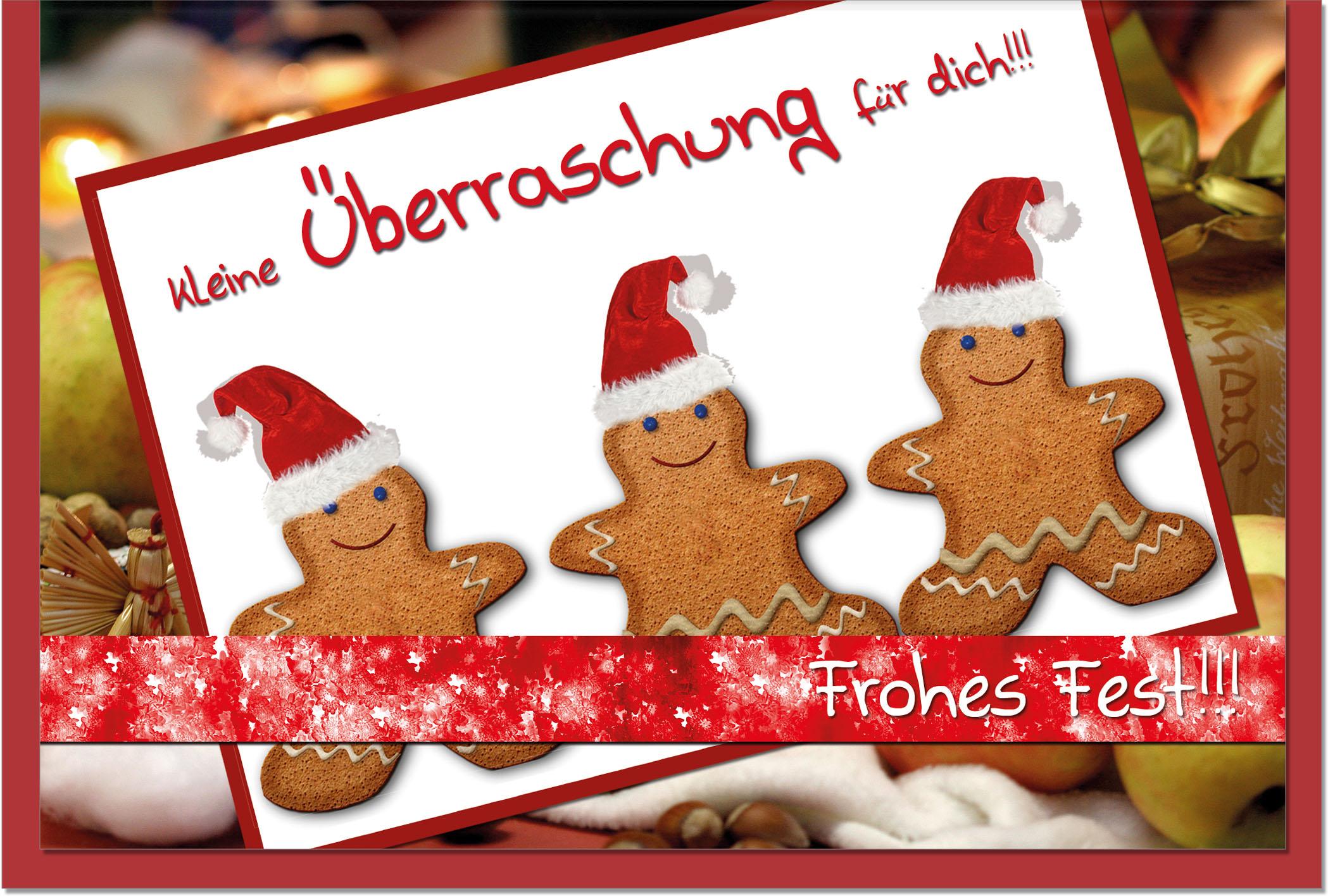 Weihnachtskarten / Grußkarten /Weihnachten Weihnachtlicher Lebkuchen