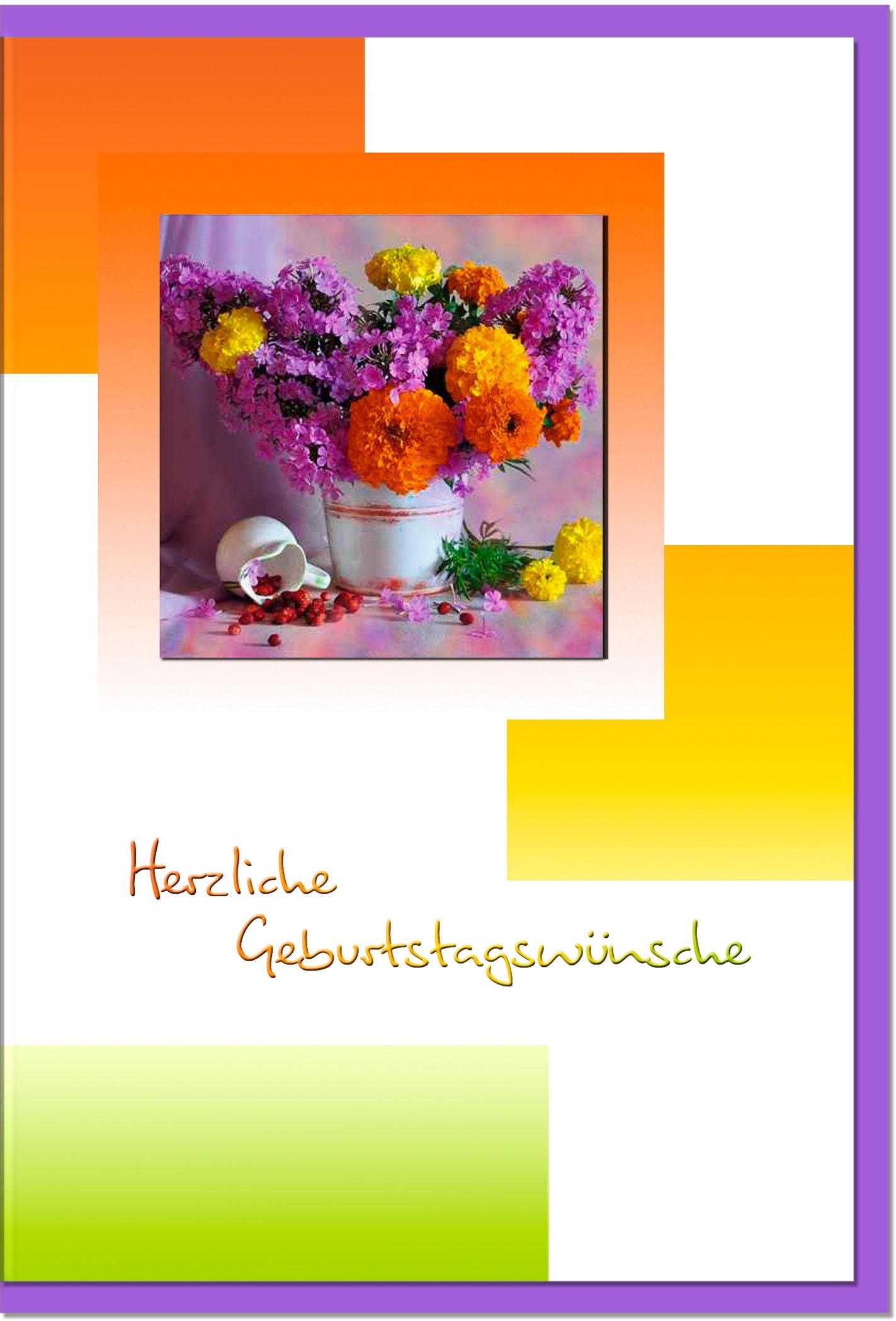 Geburtstagskarten / Grußkarten /Geburtstag Stllleben