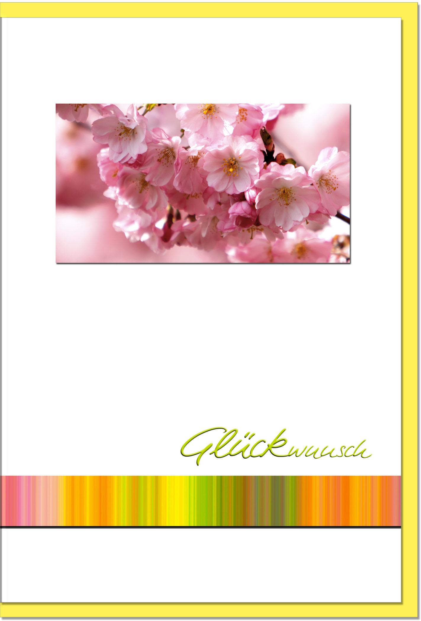 Glückwunschkarten / Grußkarten /Glückwunsch Blüten