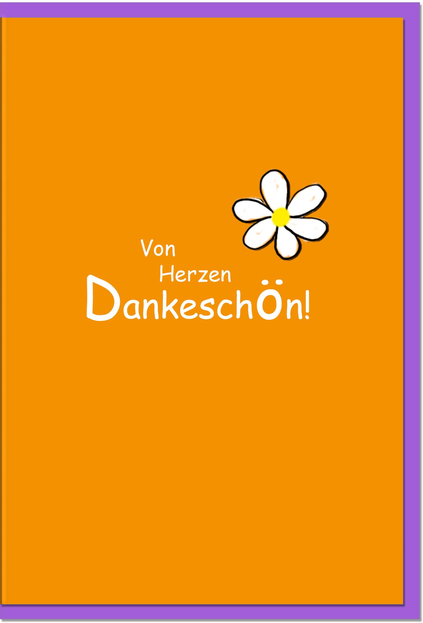 Dankeskarten / Grußkarten /Dankeschön Blüten