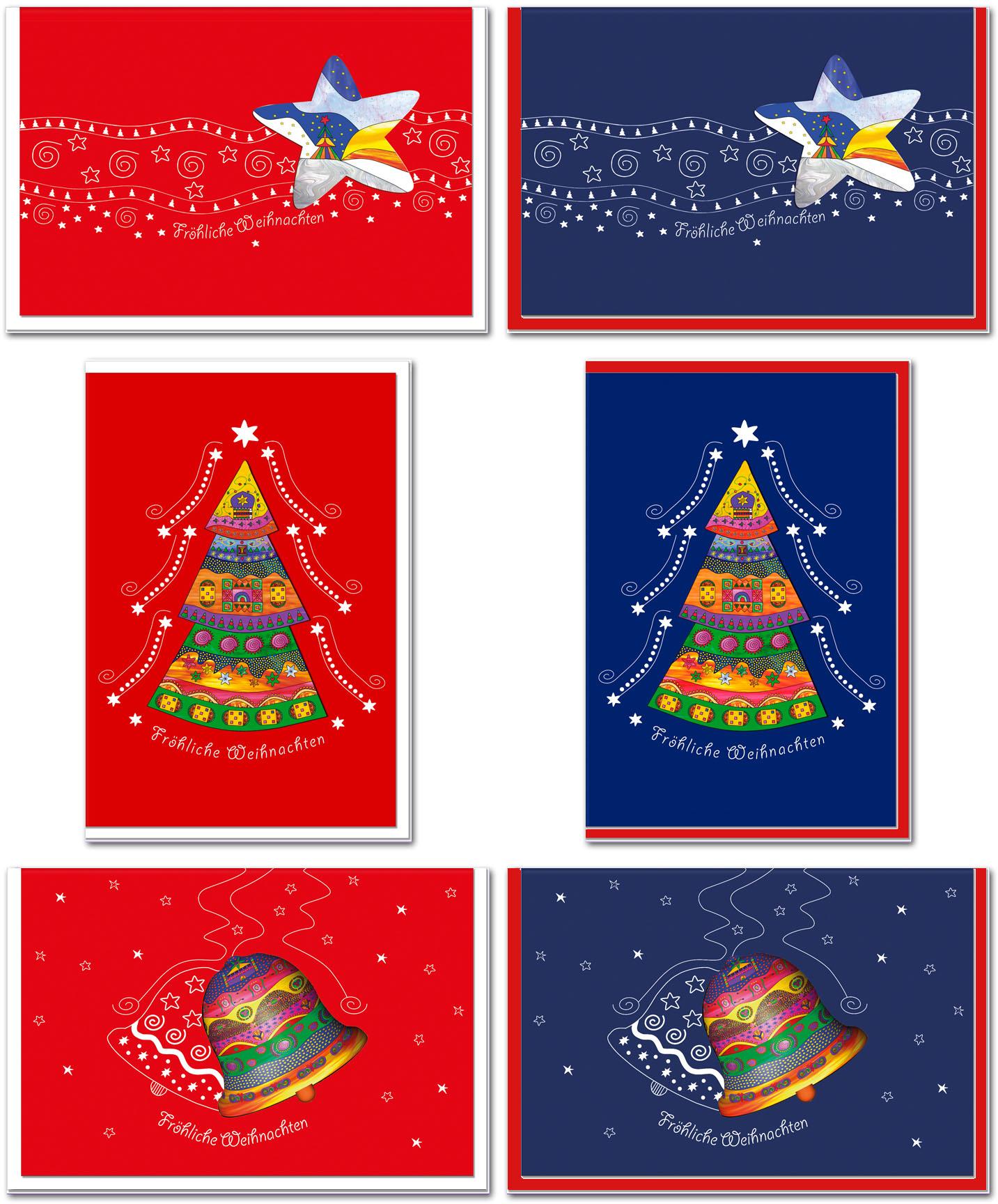 Weihnachtskarten / Grußkarten /Weihnachten Baumschmuck
