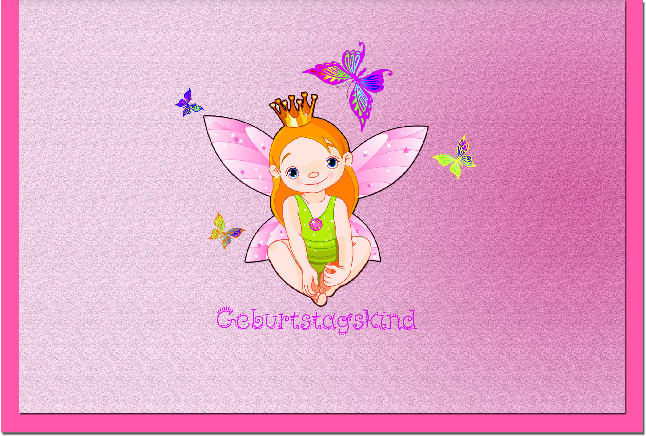 Kindergeburtstagskarten / Grußkarten /Kindergeburtstag Prinzessin