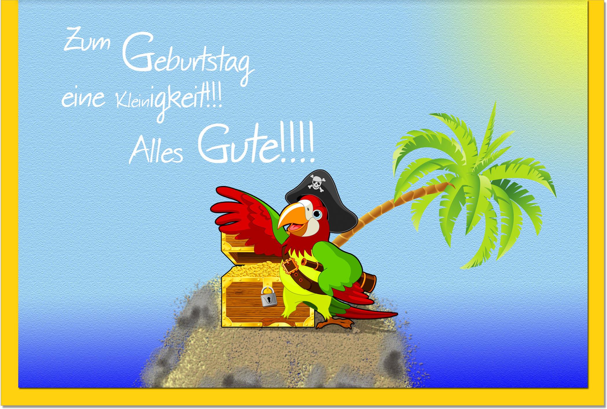Kindergeburtstagskarten / Grußkarten /Kindergeburtstag Pirat