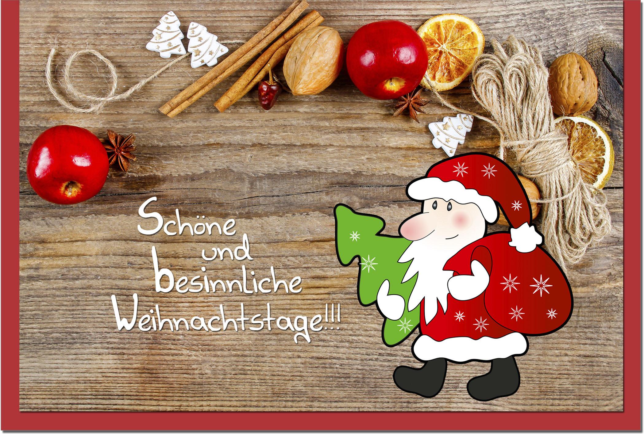 Weihnachtskarten / Grußkarten /Weihnachten Weihnachtsmann