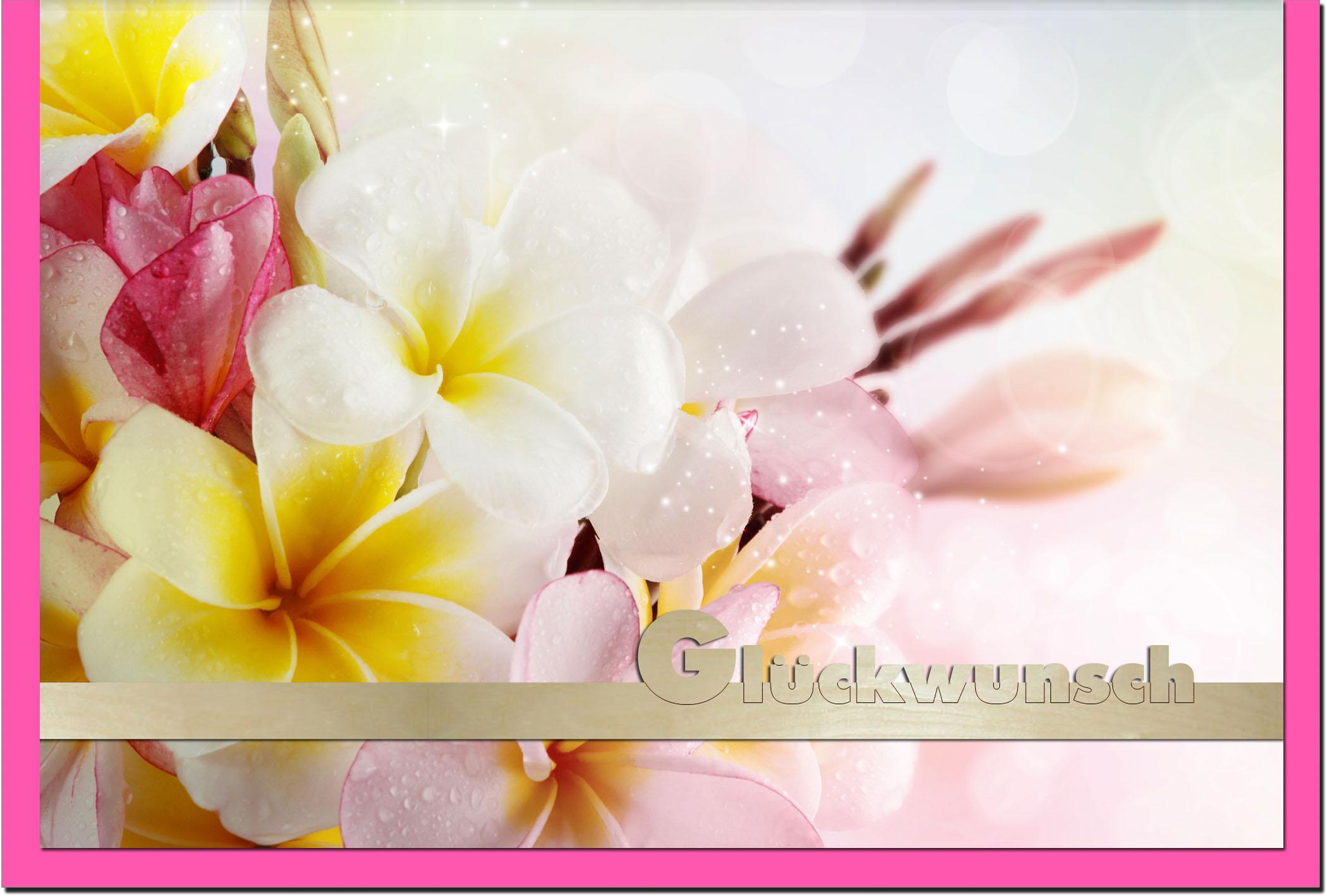 Glückwunschkarten Grußkarten Glückwunsch Blumen