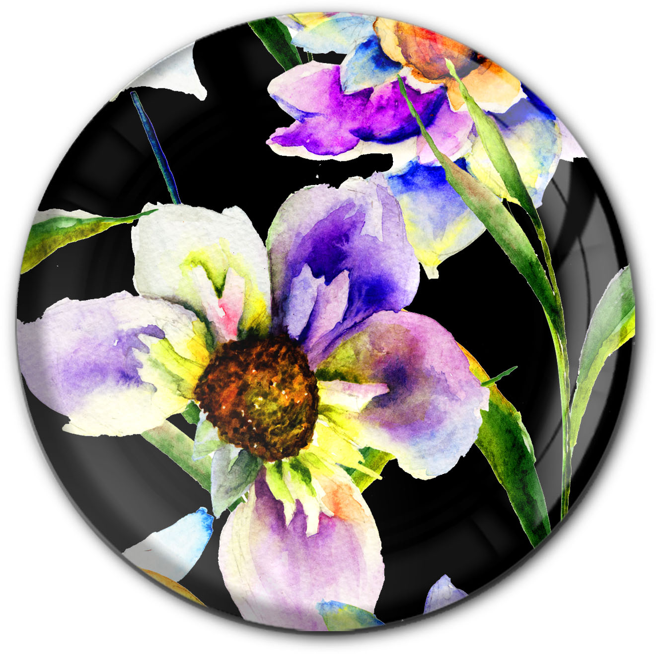 Magnet / Kühlschrankmagnet / Blumen