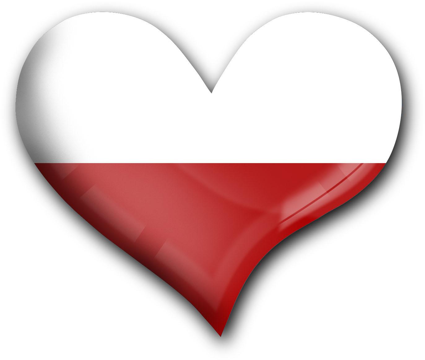 """metALUm Premium Magnete eckig """"Flagge Polen"""""""