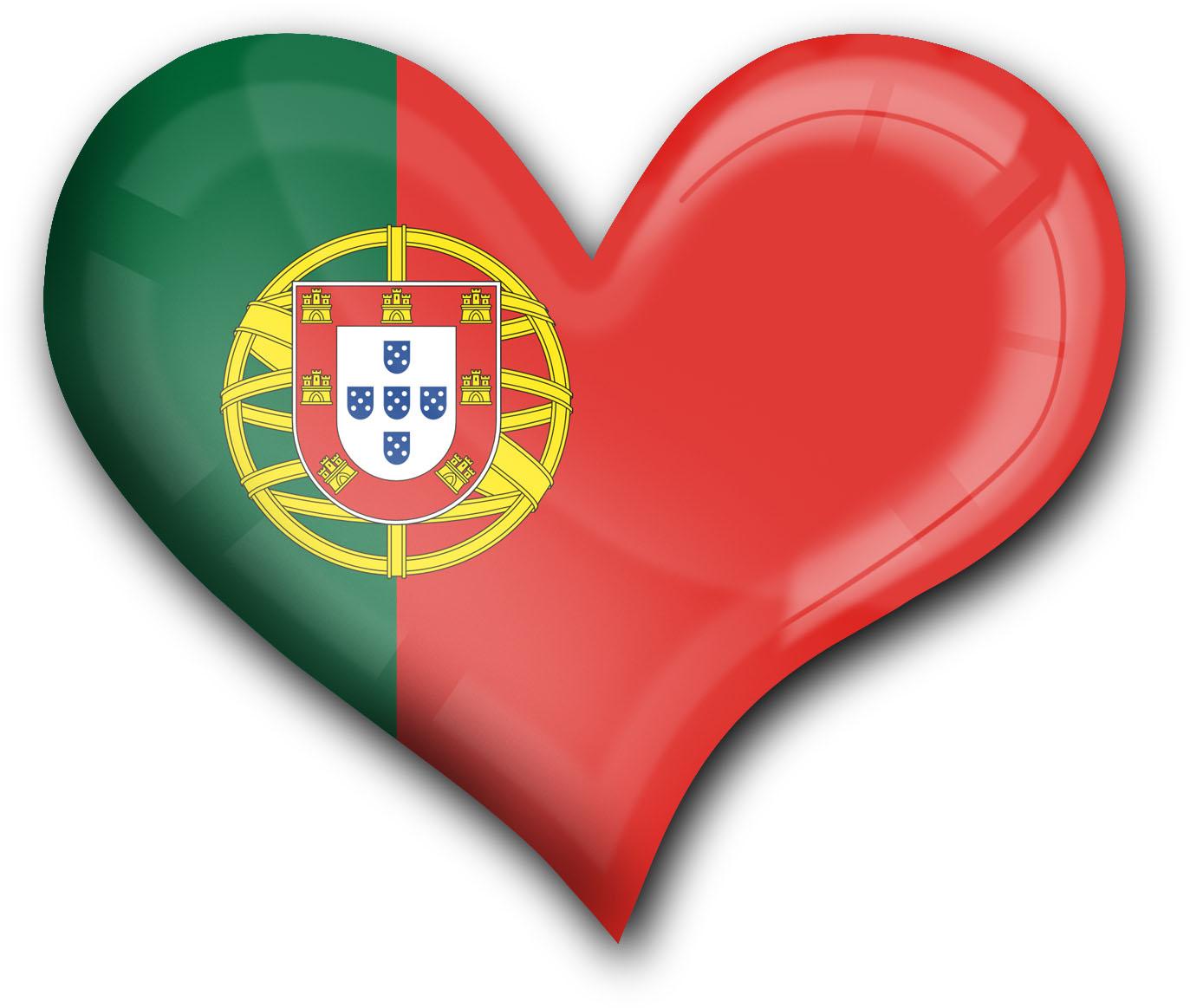 """metALUm Premium Magnete eckig """"Flagge Portugal"""""""