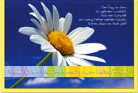 Geburtstagskarten / Grußkarten /Geburtstag Margerite