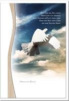 Trauerkarte ERLÖSUNG | Taube | metALUm #01341