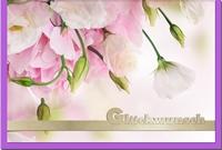 Glückwunschkarten / Grußkarten /Glückwunsch Blumen