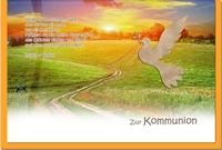 Kommunionskarten / Grußkarten / Glückwunschkarten /Kommunion Weg