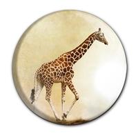 Magnet / Kühlschrankmagnet / Giraffe / Wildtiere