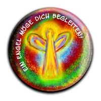 """metALUm Premium Magnet in runder Form """"Christlich"""""""