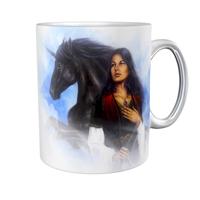 Kaffeetasse / Kaffeebecher / Einhorn / Indianer / Fantasy / Geschenktasse
