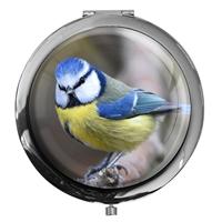 Taschenspiegel / Spiegel / Meise / Vögel