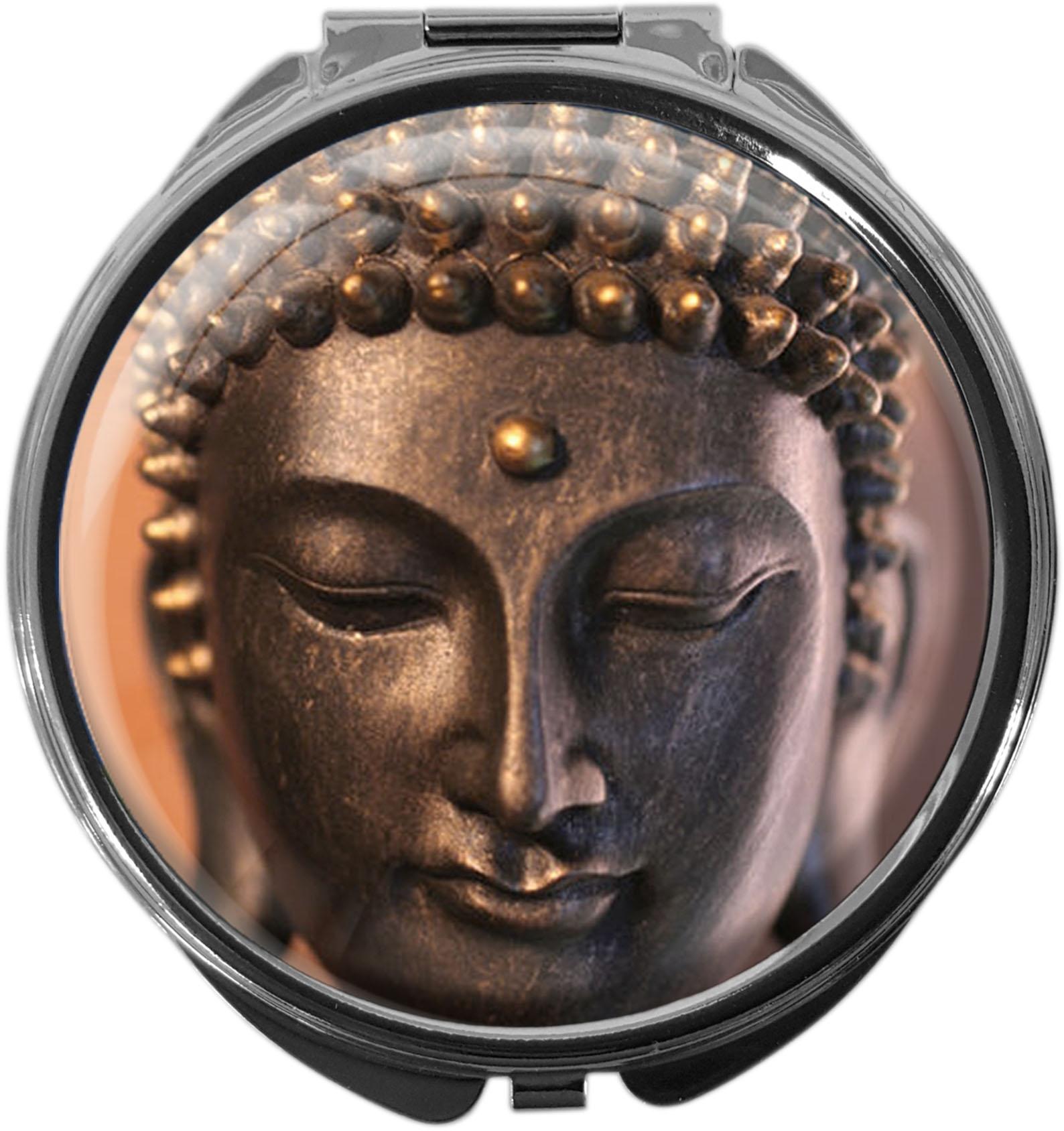 Pillendose aus Metall | BUDDAH | metALUm #00010