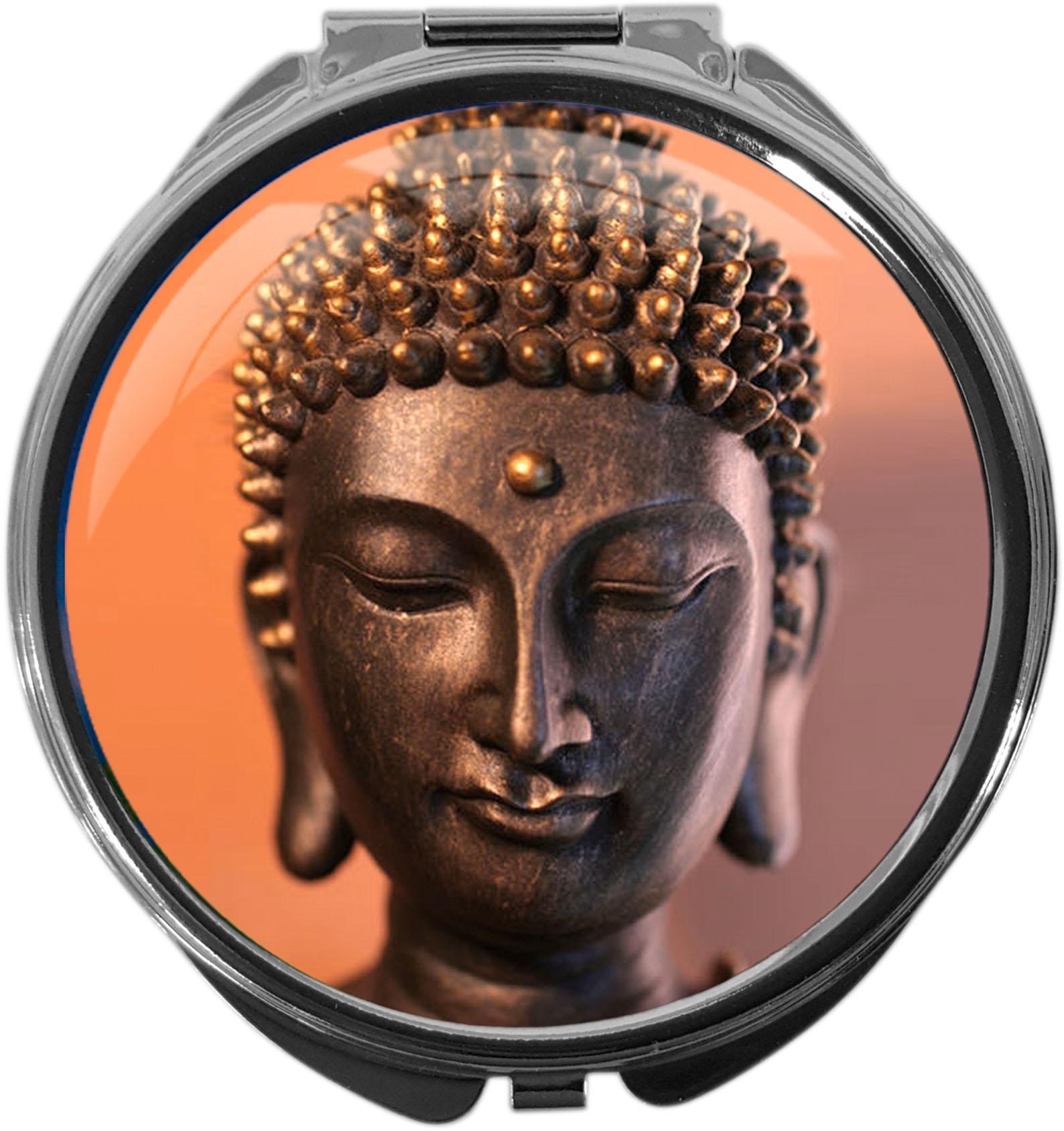 Tablettenbox aus Metall | BUDDAH | metALUm #00045