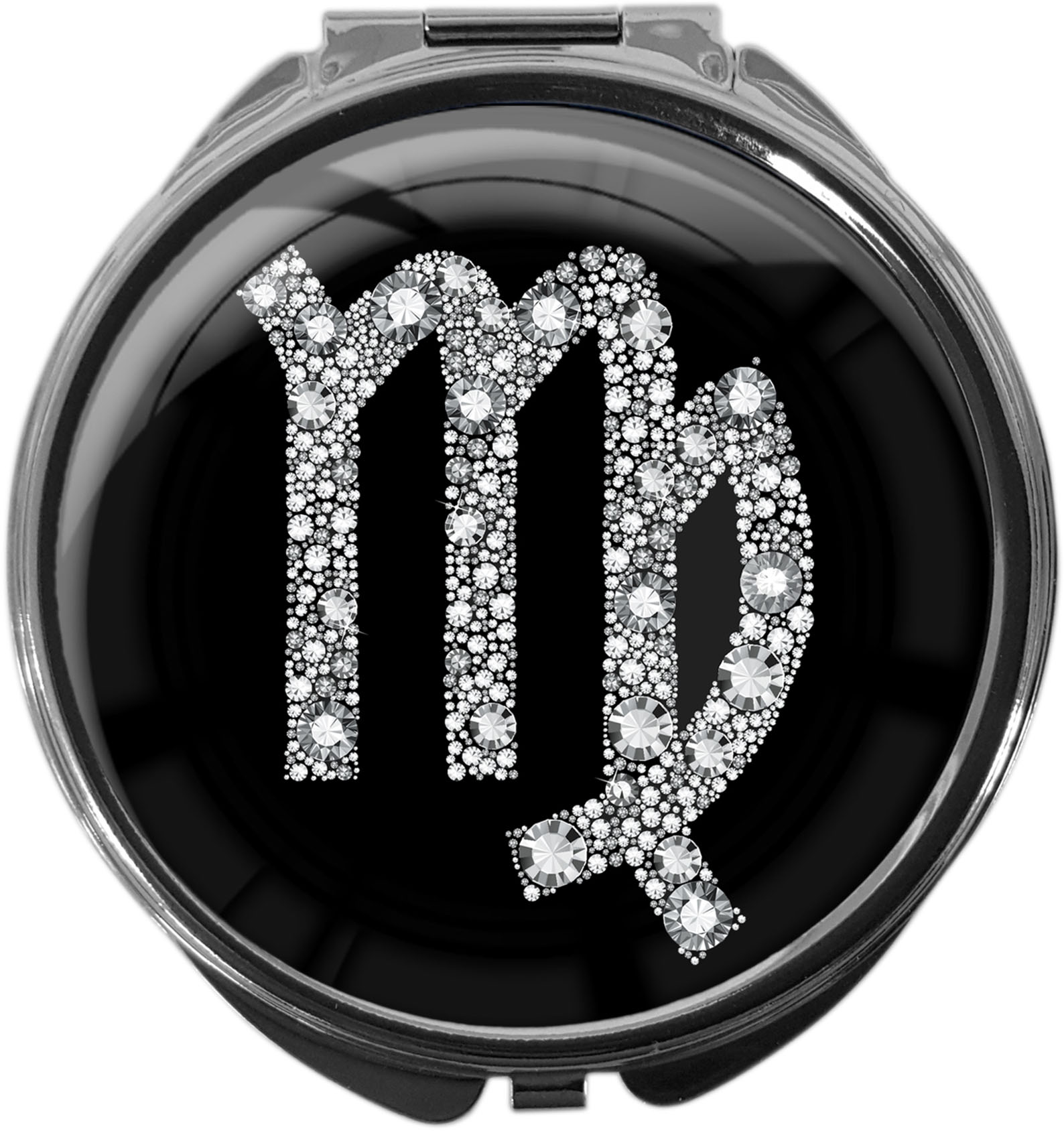 Tablettenbox aus Metall | STERNZEICHEN JUNGFRAU | metALUm #00069