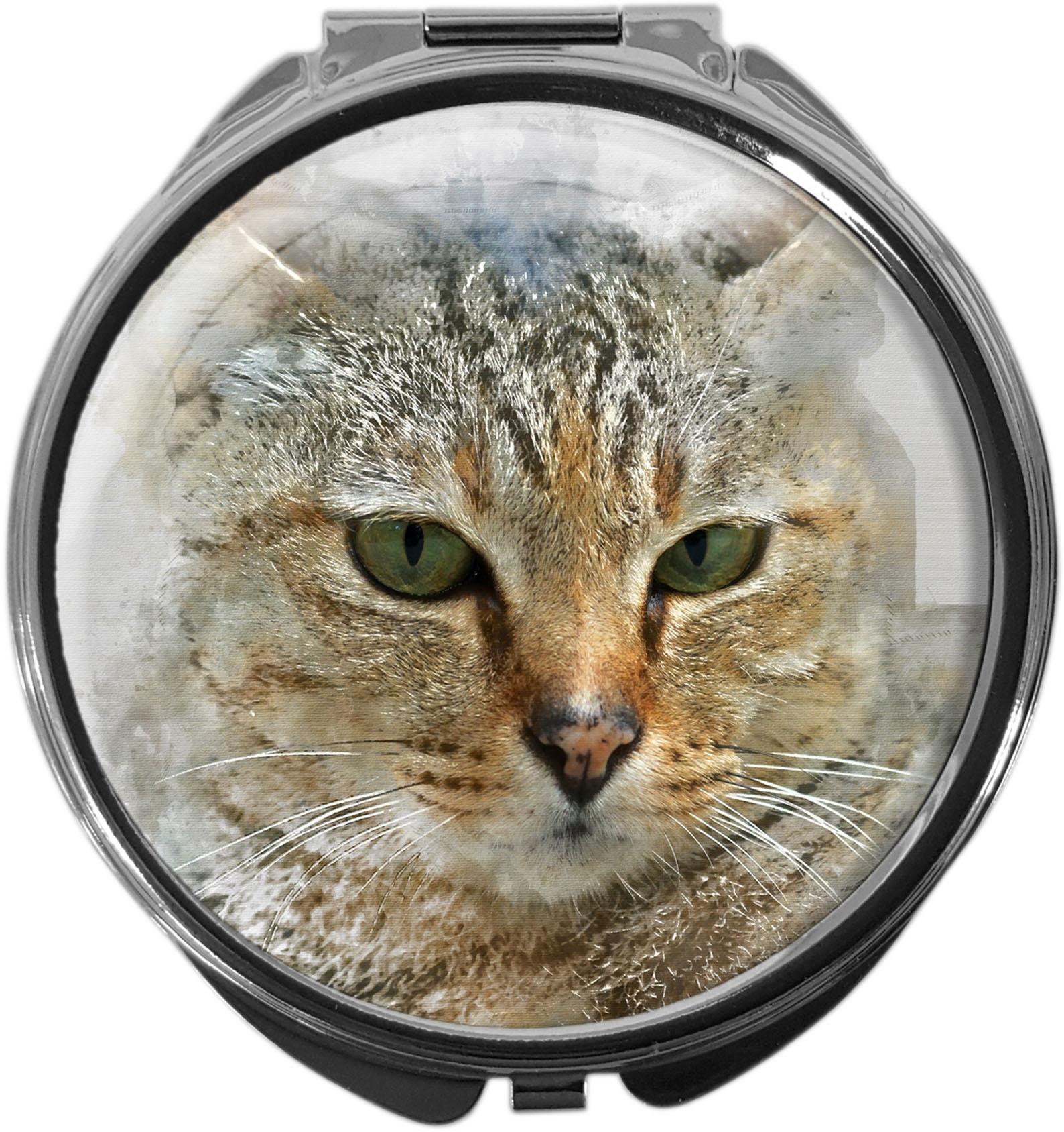 Pillendose / Katze