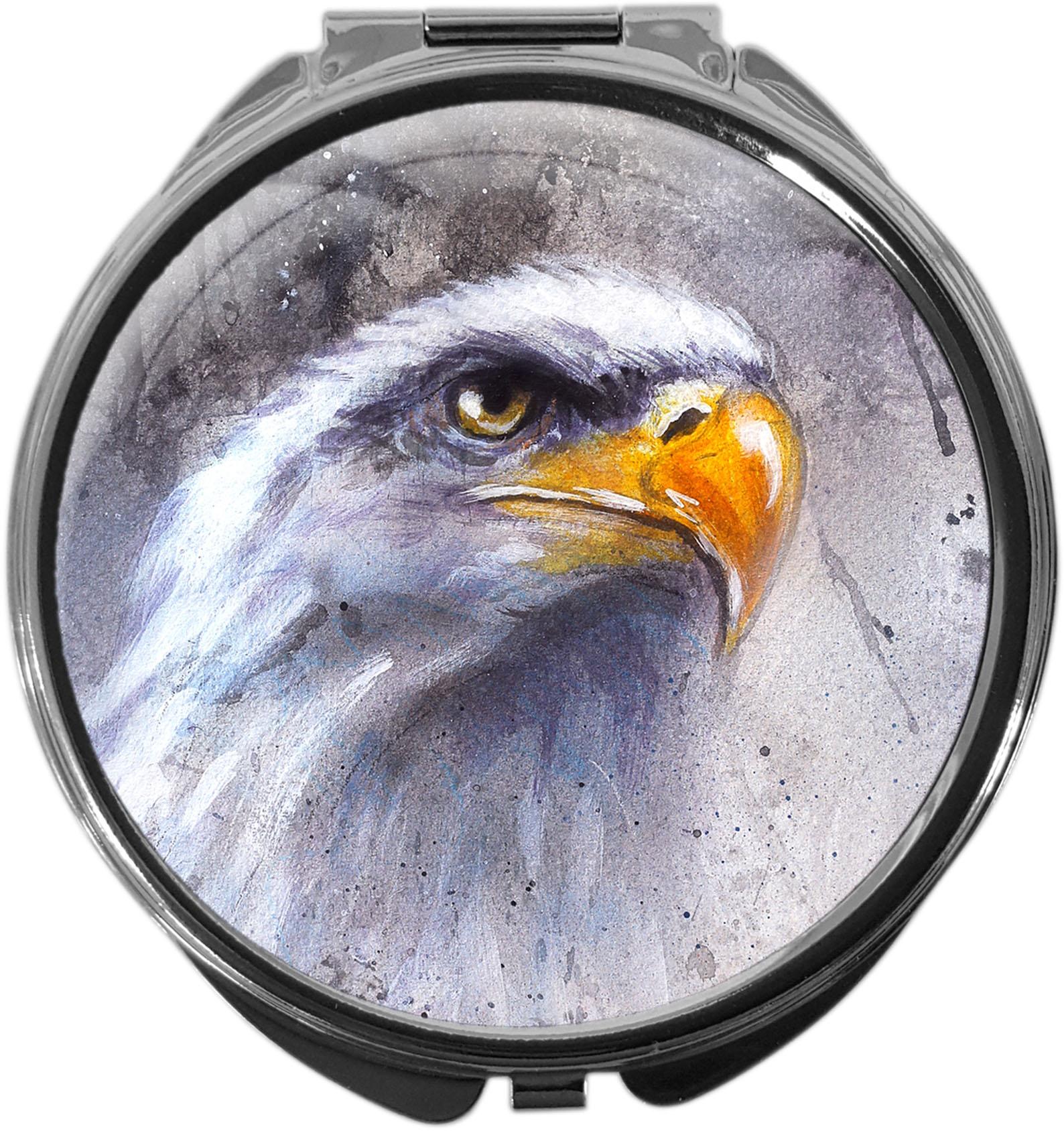 Pillendose / Adler / Weißkopfseeadler / Raubvogel