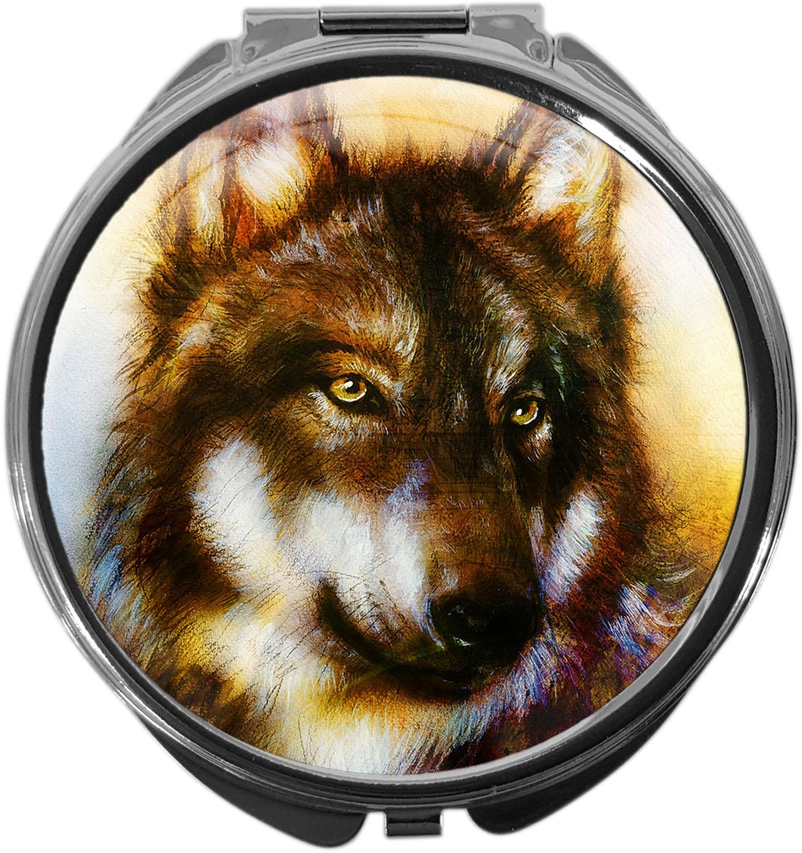 Pillendose / Wolf / Raubtiere / Wild