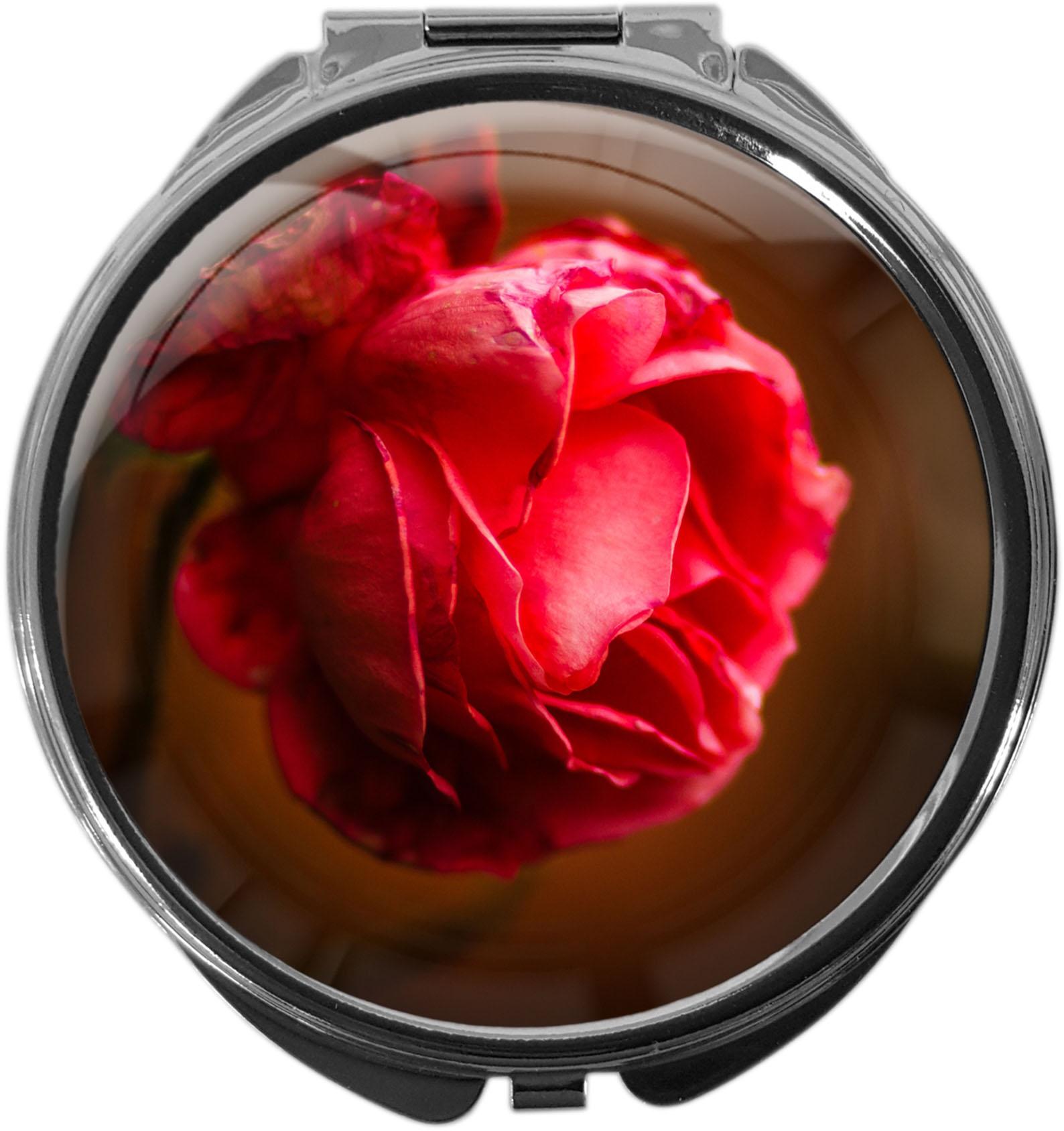 Pillendose / Rose