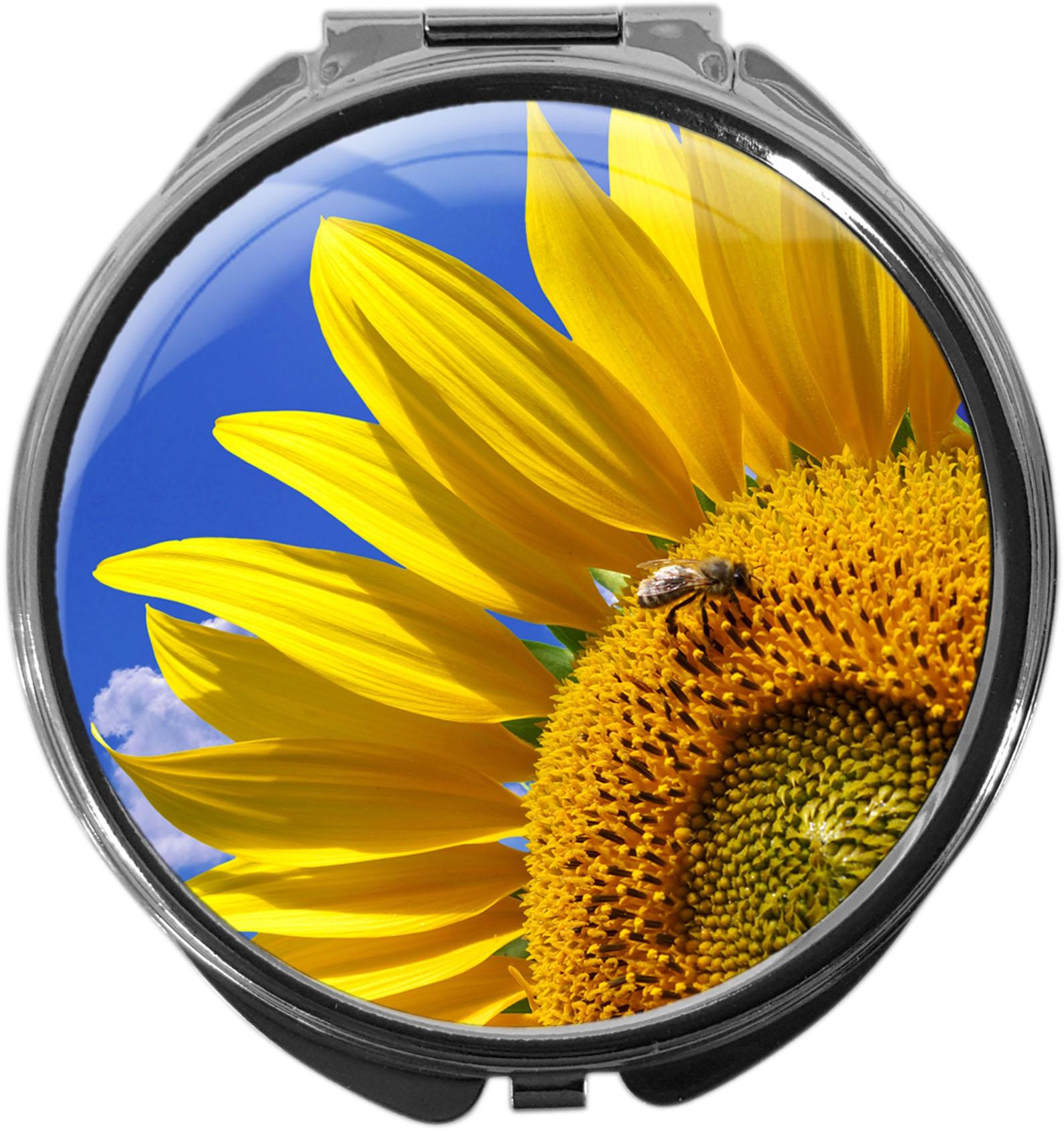 Pillendose / Sonnenblume