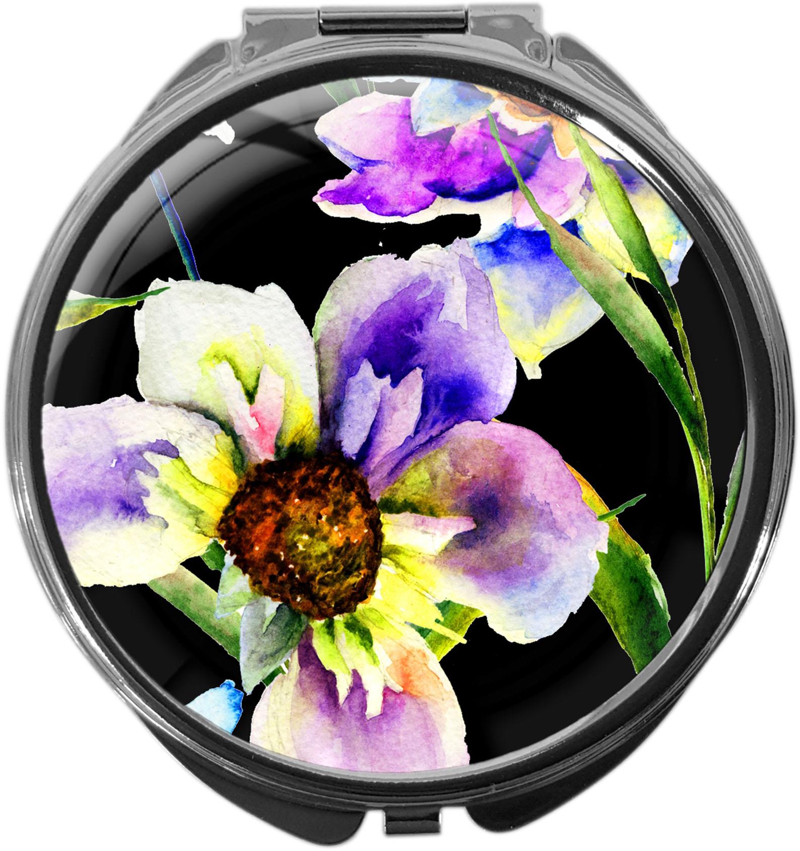 Pillendose / Blumen