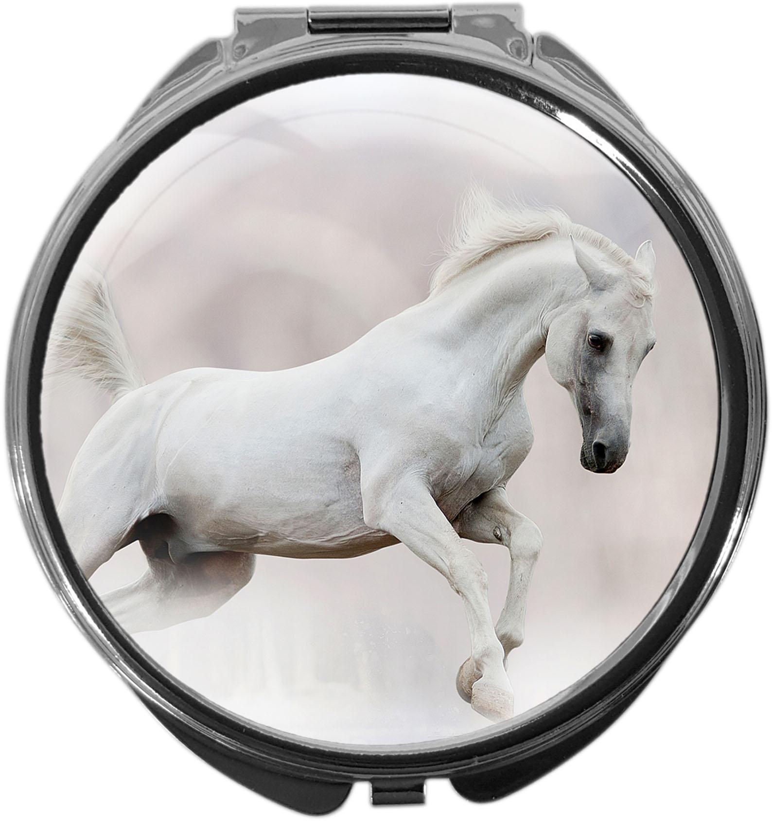 Pillendose / Pferd