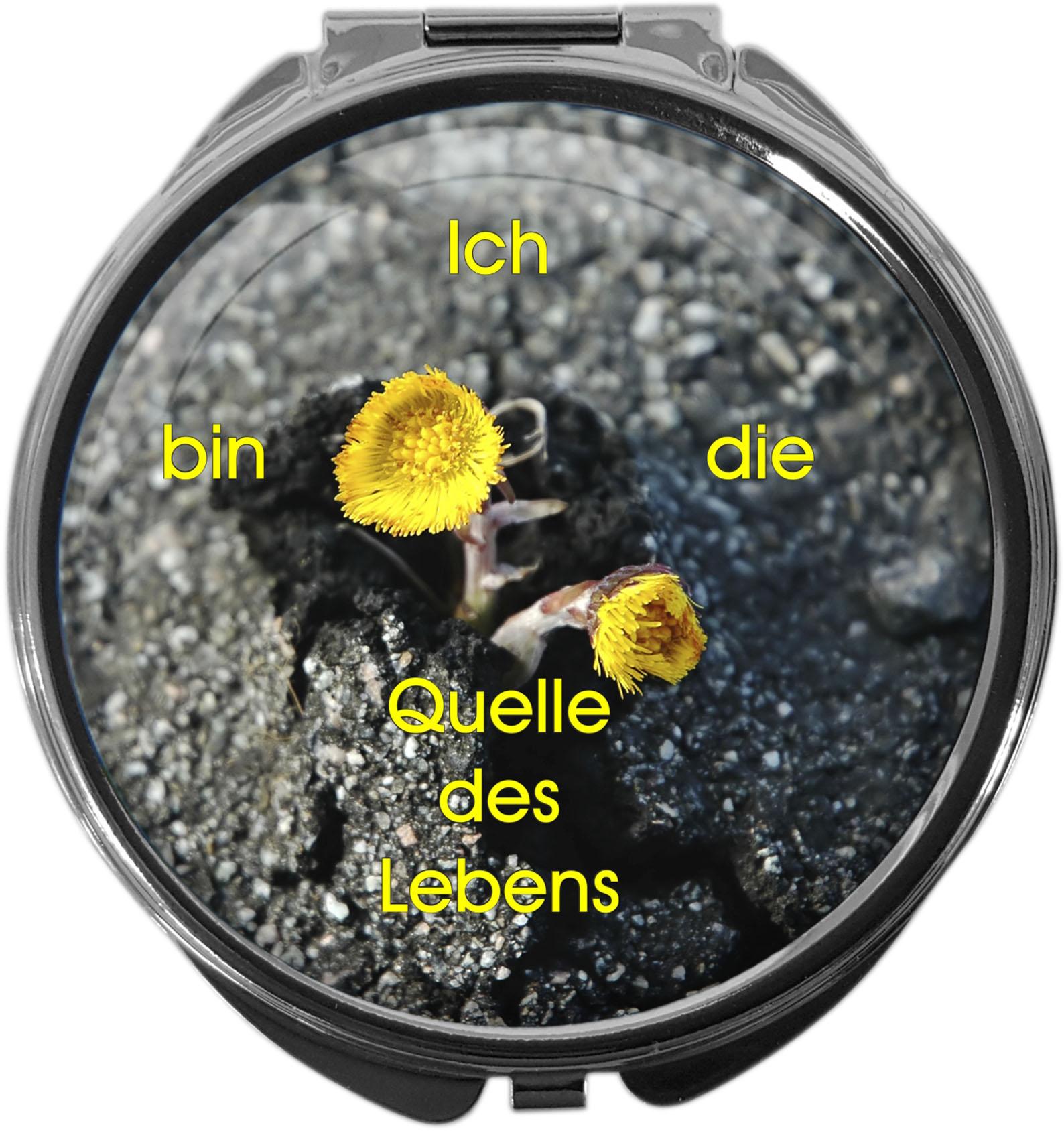 """metALUm Premium Pillendosen runder Form """"Christlich"""""""