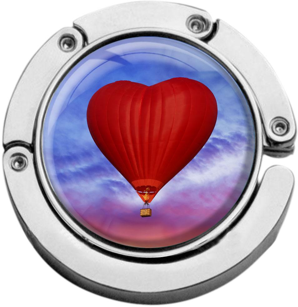 "metALUm Taschenaufhänger in runder Form ""Heißluftballon"""