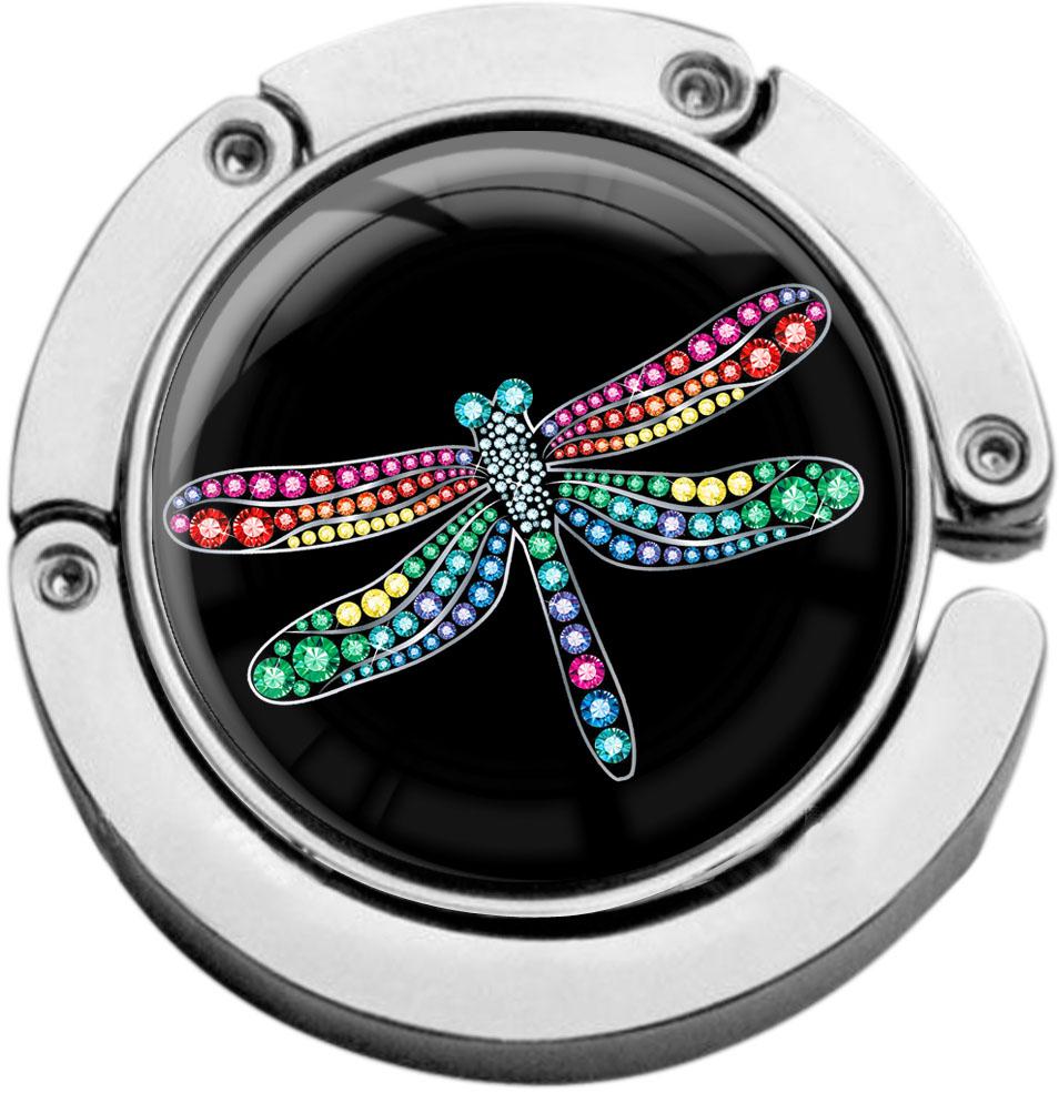 """metALUm Taschenaufhänger in runder Form """"Libelle"""""""