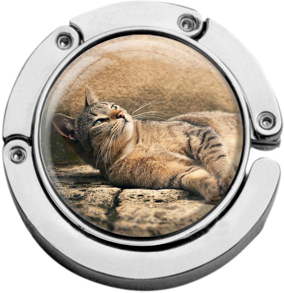 Taschenaufhänger / Katze