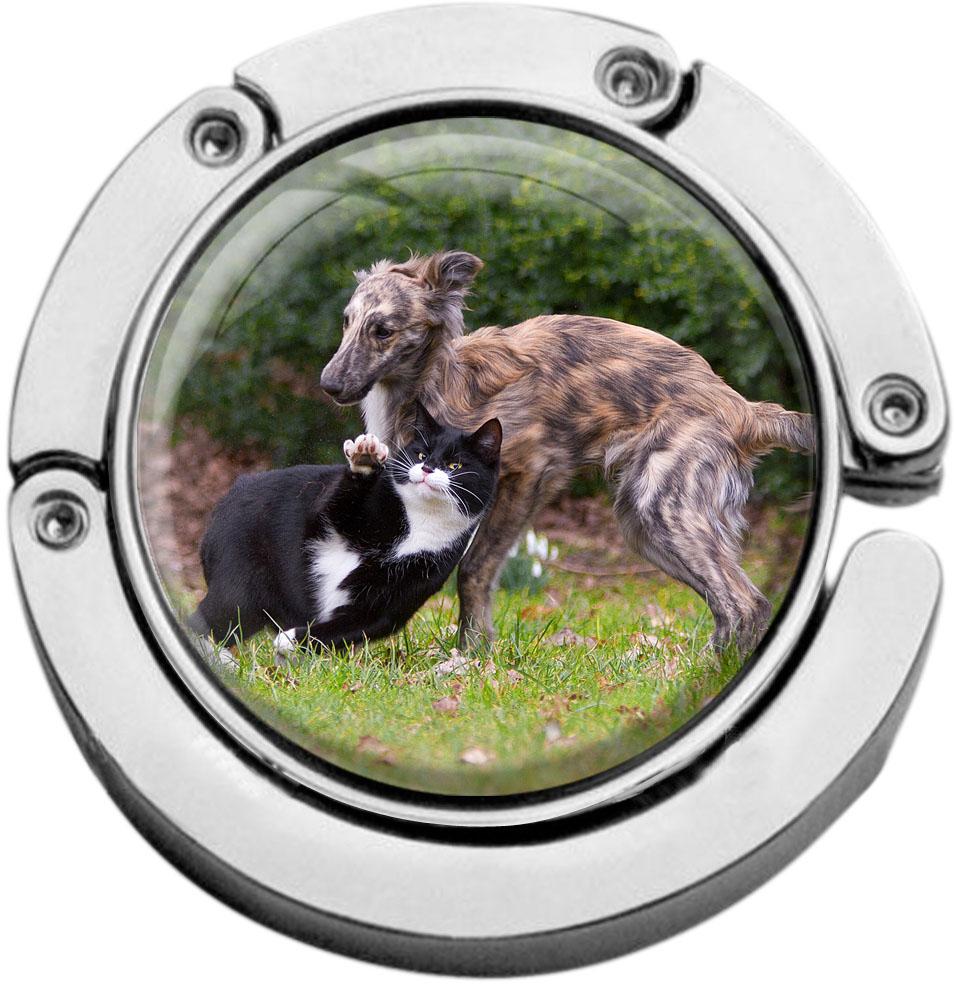 Taschenaufhänger / Katzen / Hunde