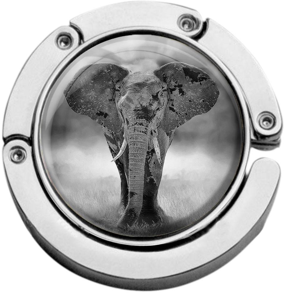 Taschenaufhänger / Elefant / Wildtiere