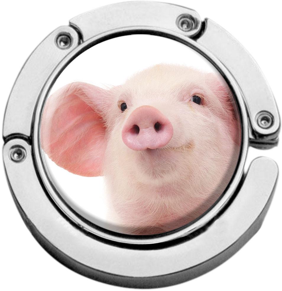 Taschenaufhänger / Schwein