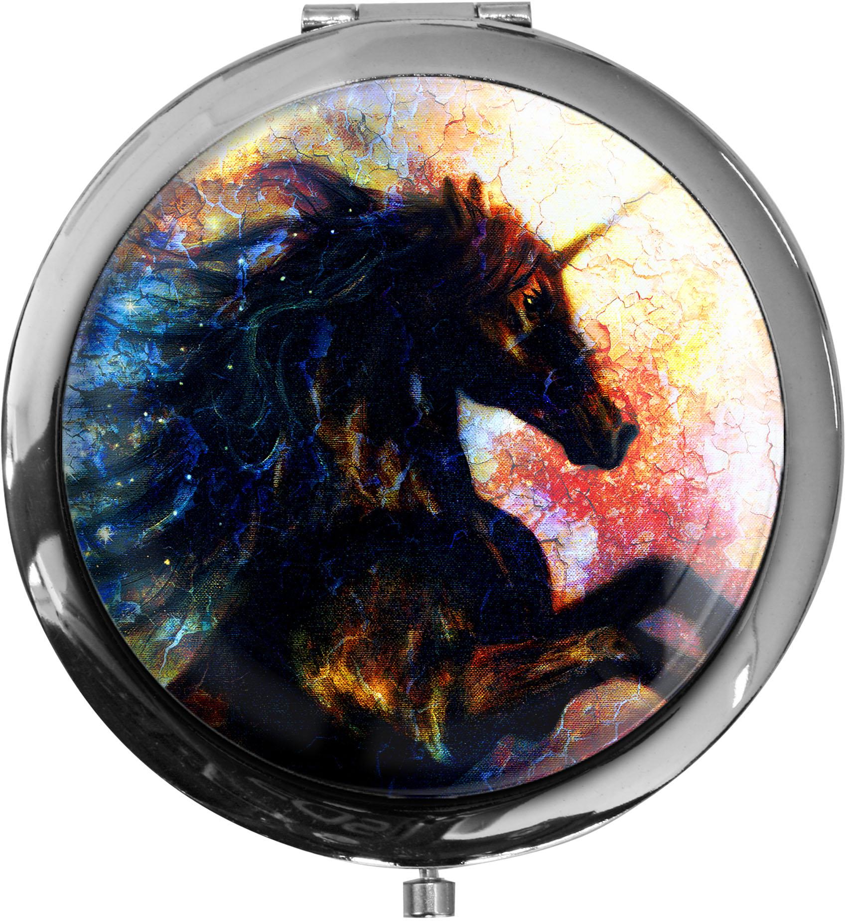 Pillendose XXL / Einhorn / Indianer / Fantasy