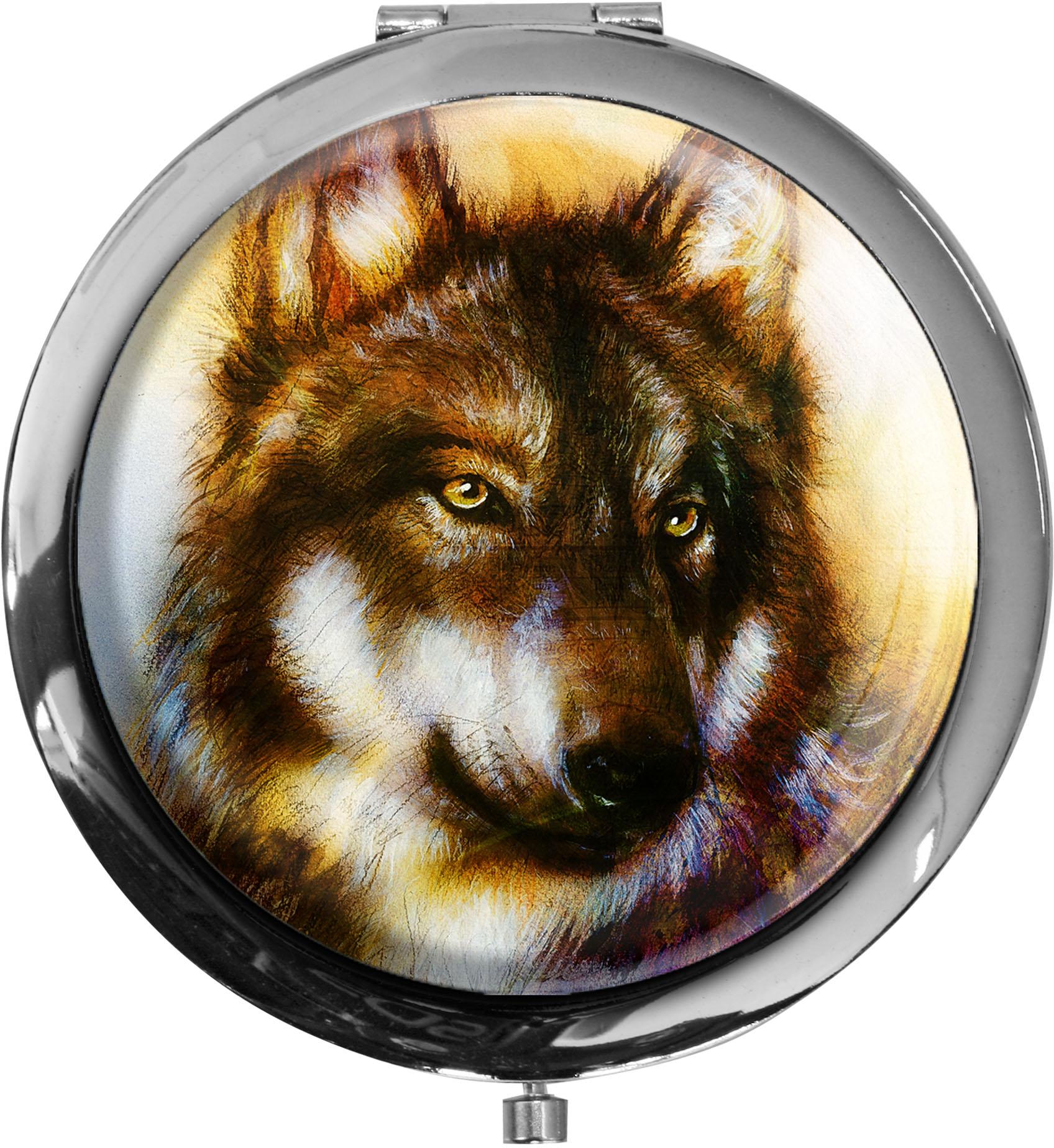 Pillendose XXL / Wolf / Raubtiere / Wild