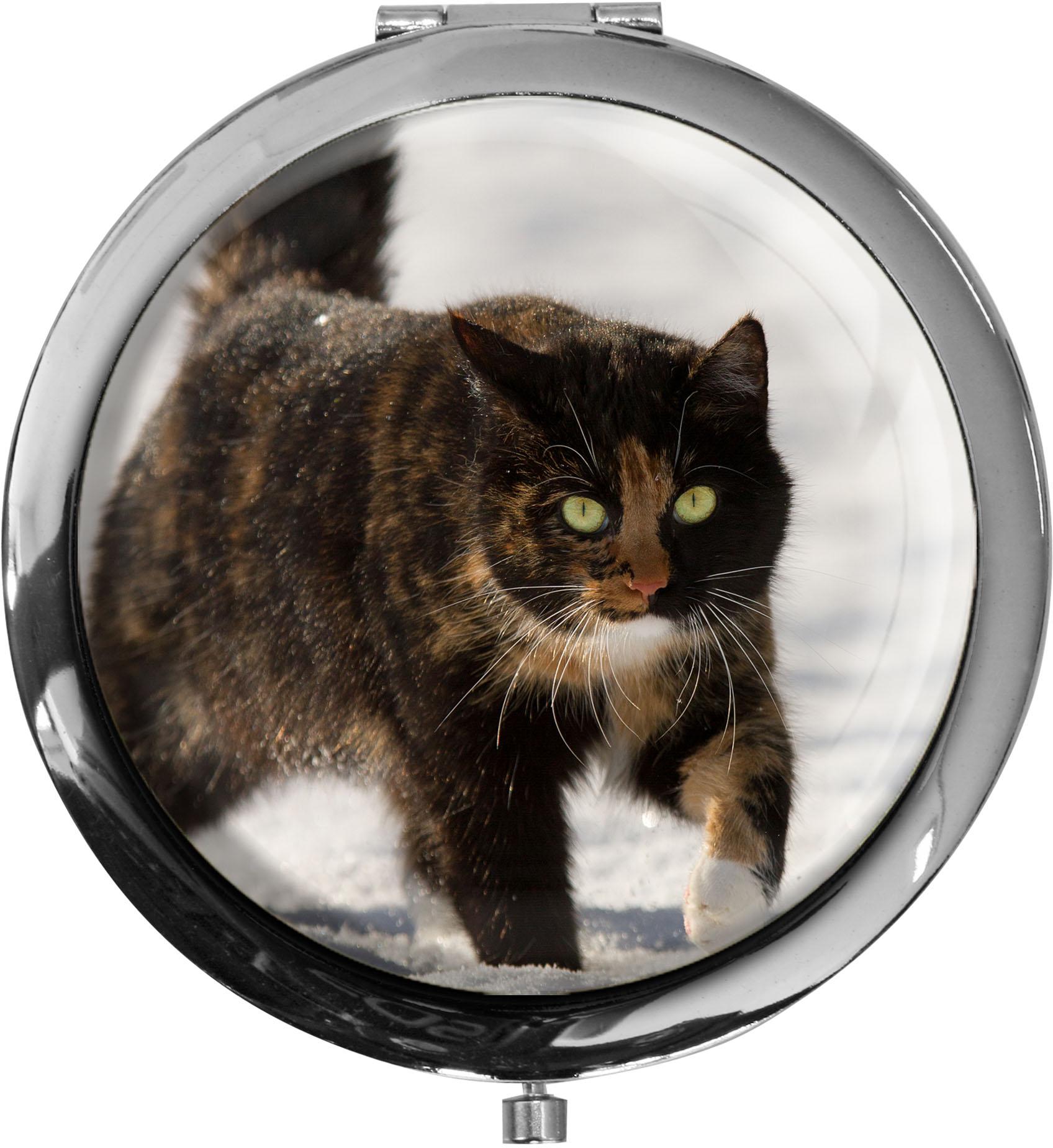 Pillendose XXL / Katze