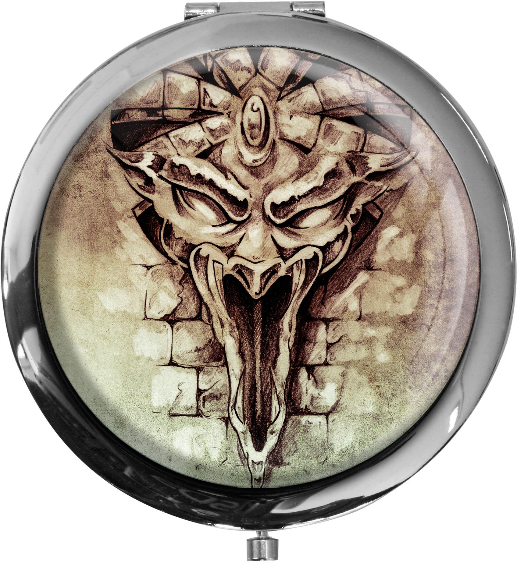 Pillendose XXL / Drache / Mystik