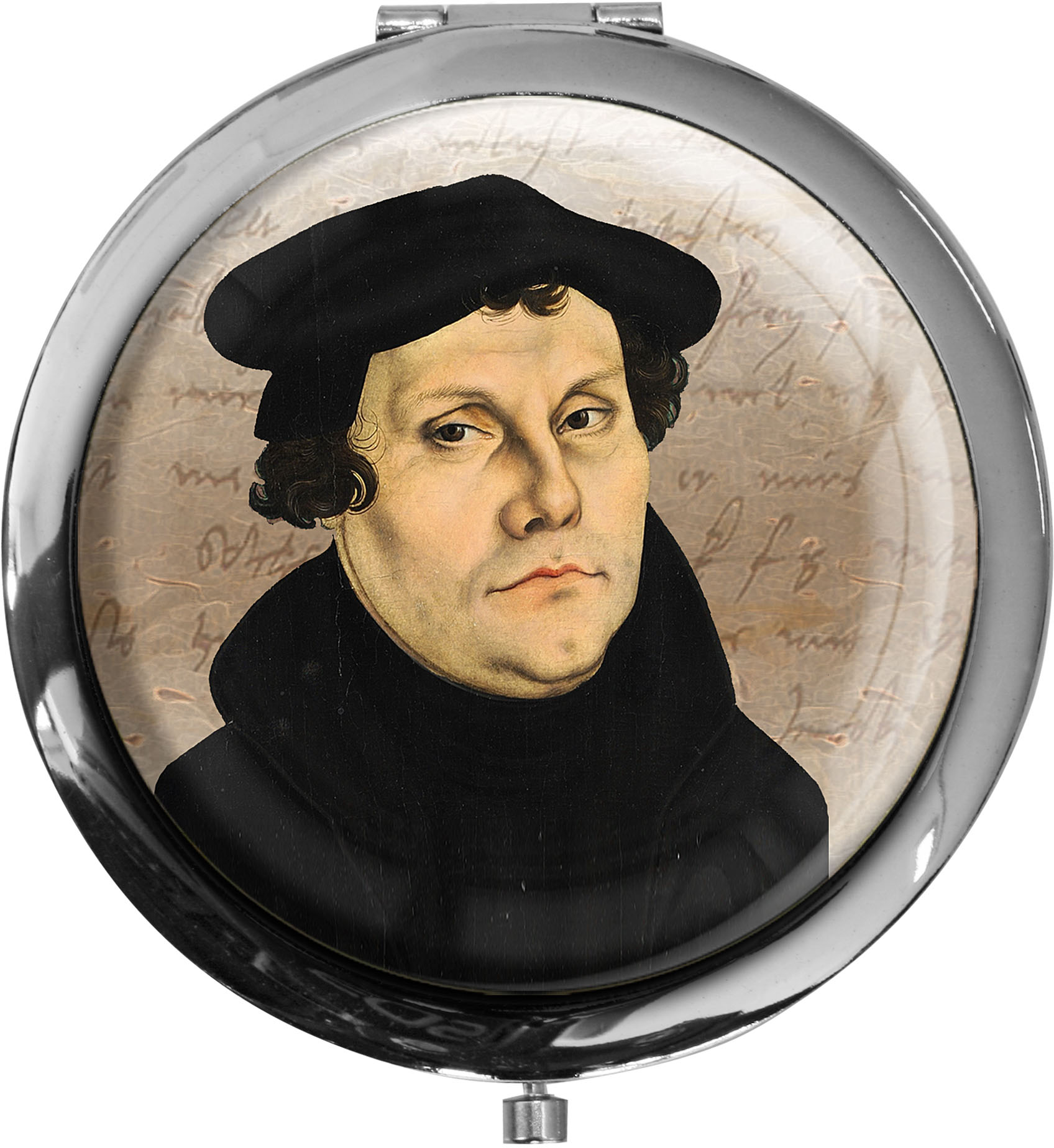 Pillendose XXL / Martin Luther / Christlich
