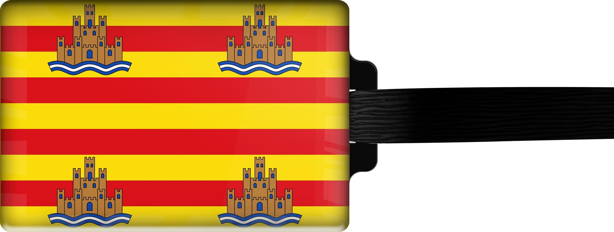 "metALUm Premium Gepäckanhänger ""Ibiza"""
