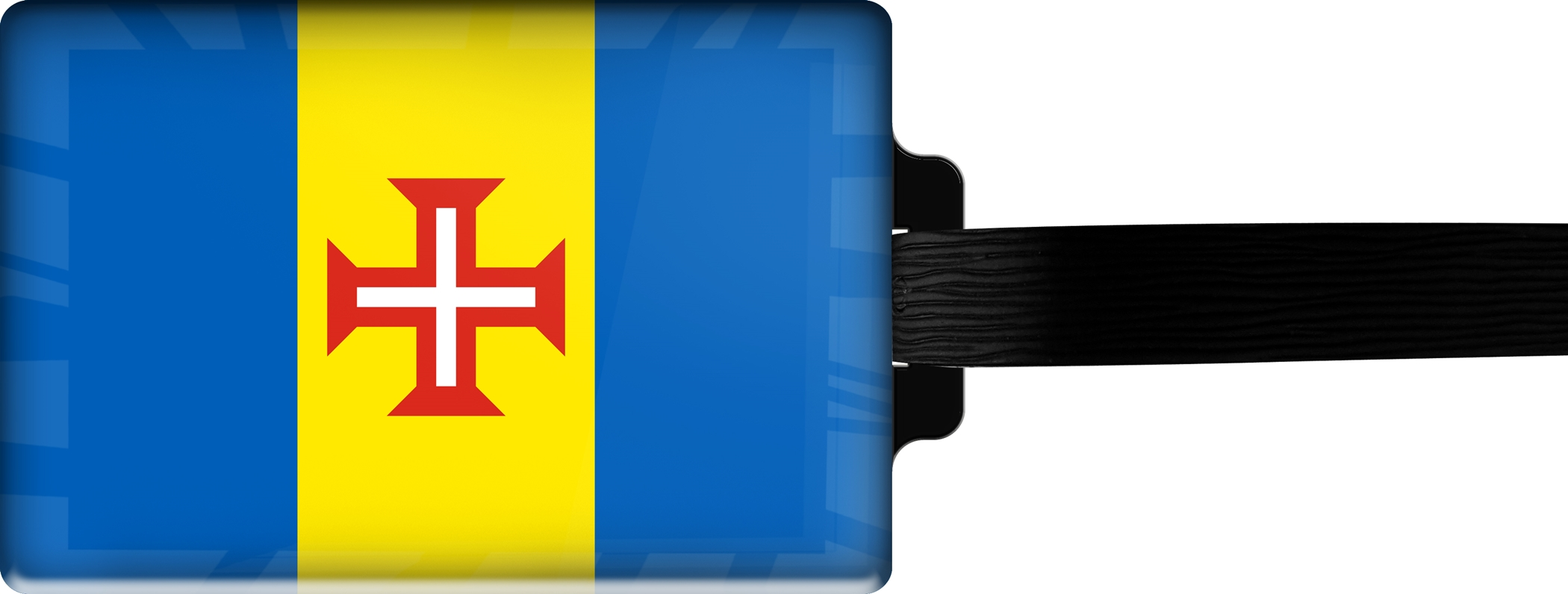 "metALUm Premium Gepäckanhänger ""Madeira"""
