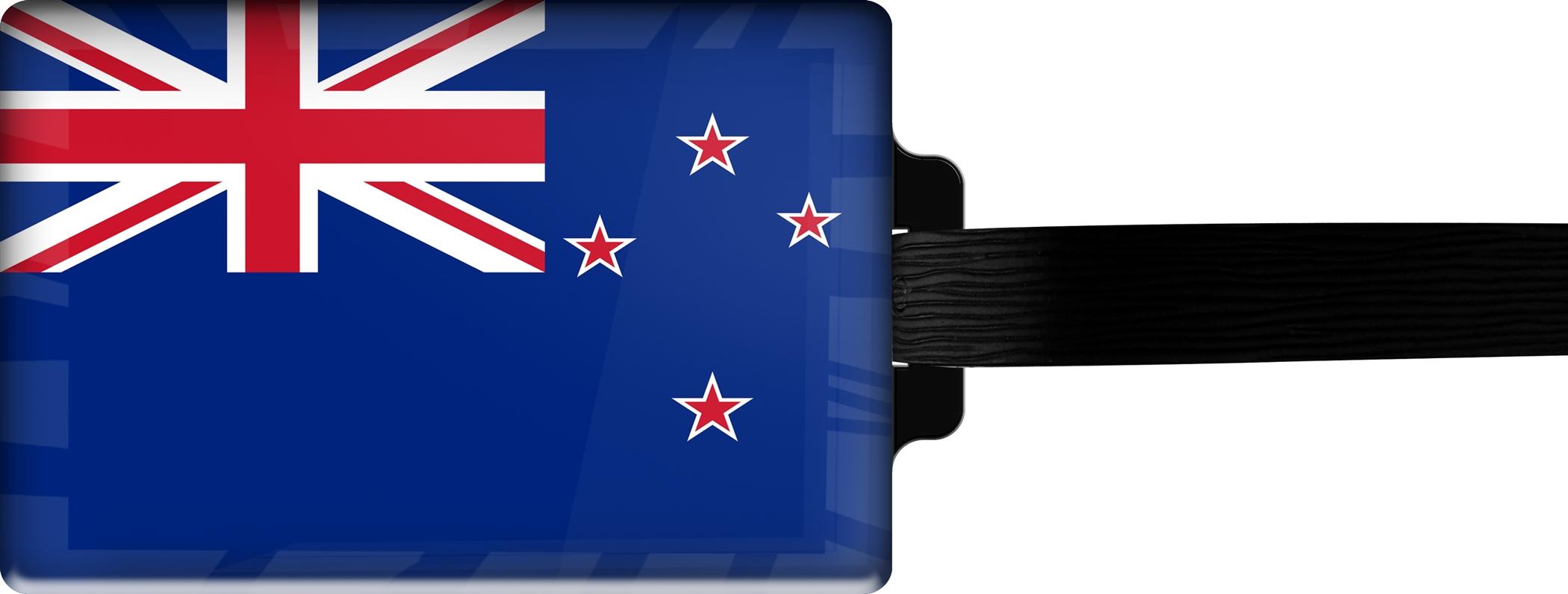 "metALUm Premium Gepäckanhänger ""Neuseeland"""