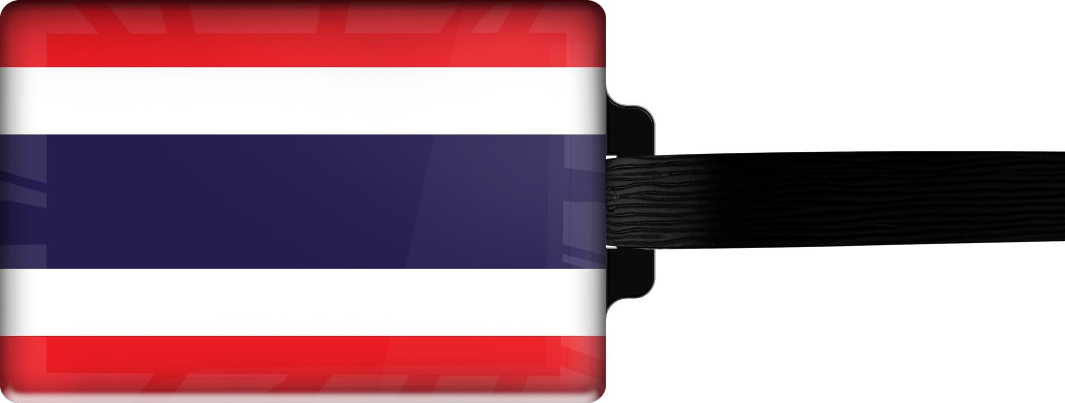 "metALUm Premium Gepäckanhänger ""Thailan"""