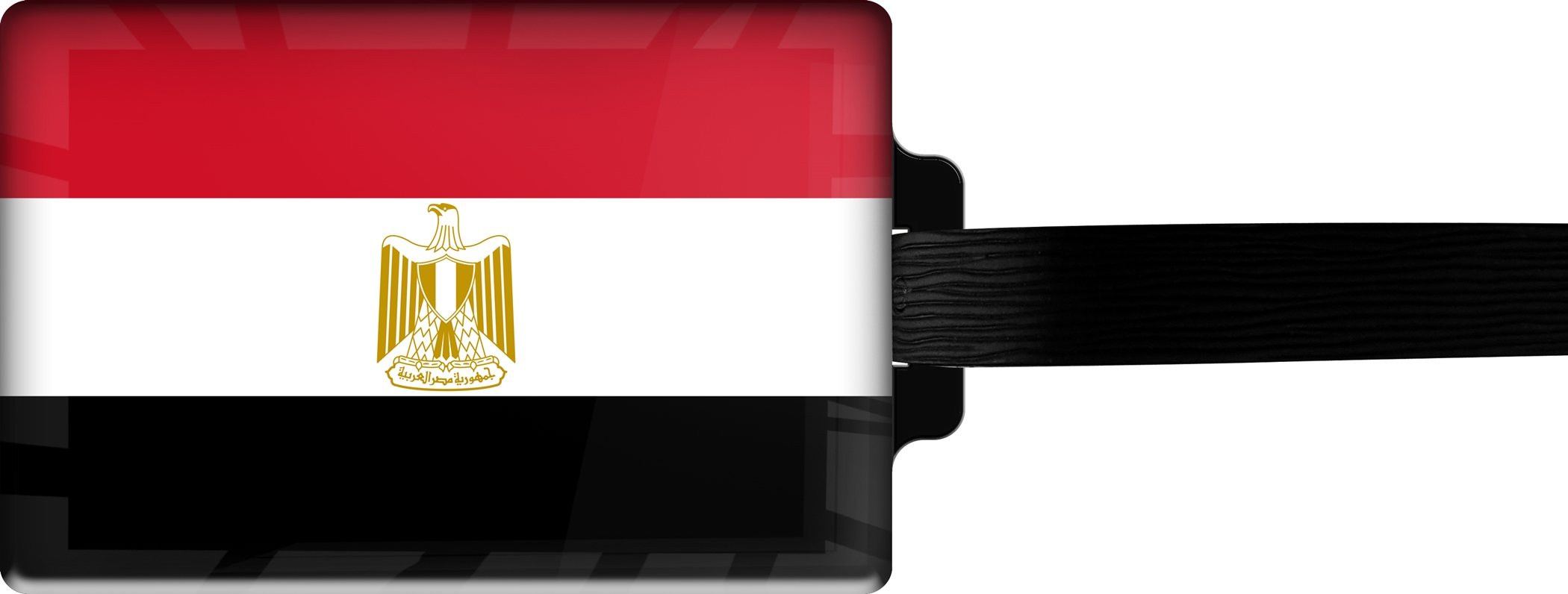 "metALUm Premium Gepäckanhänger ""Ägypten"""