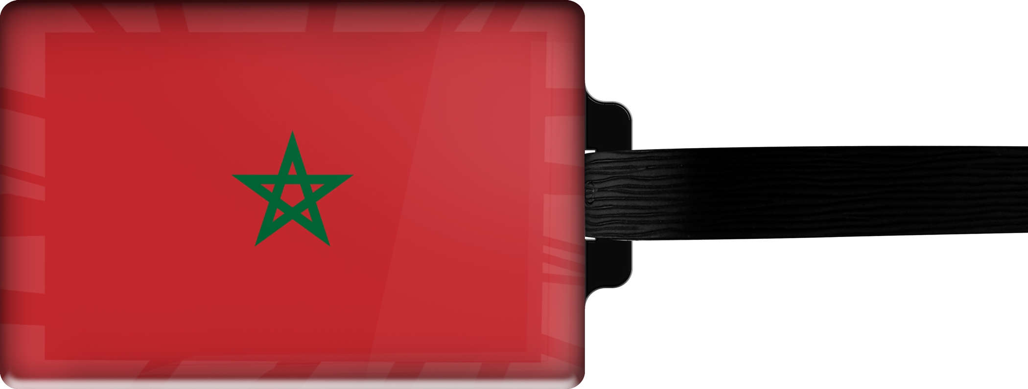 "metALUm Premium Gepäckanhänger ""Marokko"""